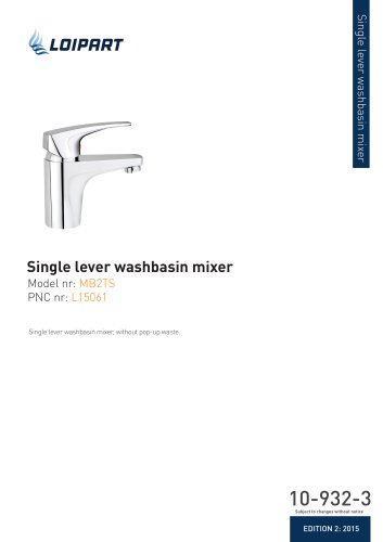 Mixer Tap Single Lever
