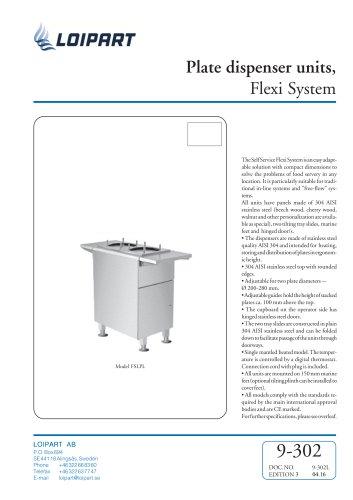 Plate Dispenser Unit FX04N