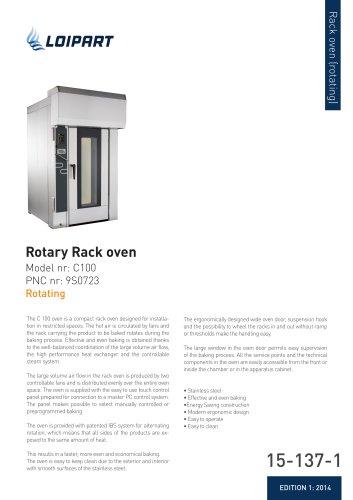 Rotary Rack oven C100