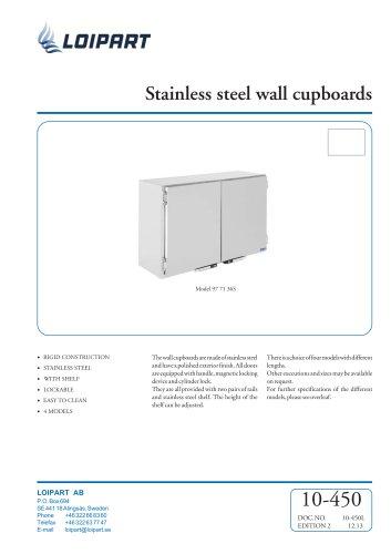 S/S Wall Cupboard