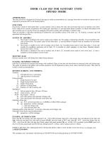 Door class B-15 for sanitary unit - 2