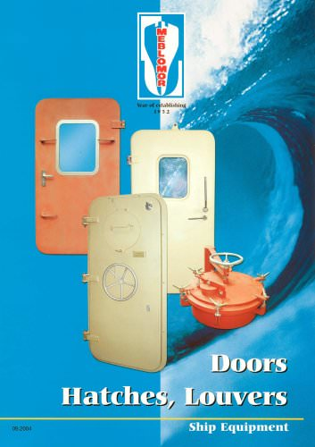 BOOKLET FOR DOORS, HATCHES, LOUVERS