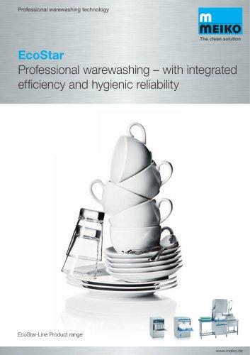 Catalogue Undercounter glass and dishwashing machines Ecostar-line Ecostar 430F