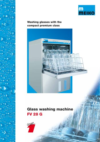 Catalogue Undercounter glass and dishwashing machines Premium-line FV 28 G