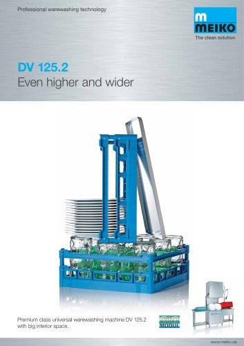 Catalogue Universal warewashing machine DV 125.2