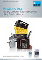 Universal ware washing machine FV 130.2 / FV 250.2