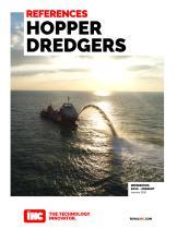 REFERENCES Hopper dredgers