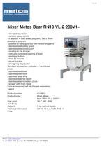 Metos Bear 10