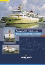 Passenger ships for indonesia