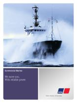 Marine Commercial: We move you. With reliable power.