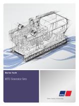 Marine Yacht: MTU Generator Sets