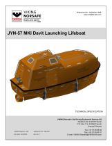JYN-57 MKI Davit Launching Lifeboat - 1
