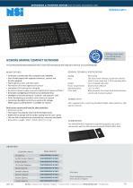 IEC60945 MARINE COMPACT KEYBOARD