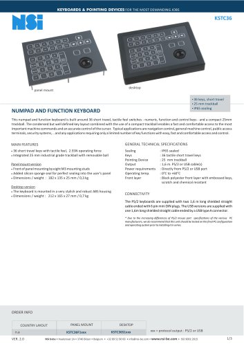 NUMPAD AND FUNCTION KEYBOARD