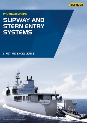 SLIPWAY AND STERN ENTRY SYSTEMS