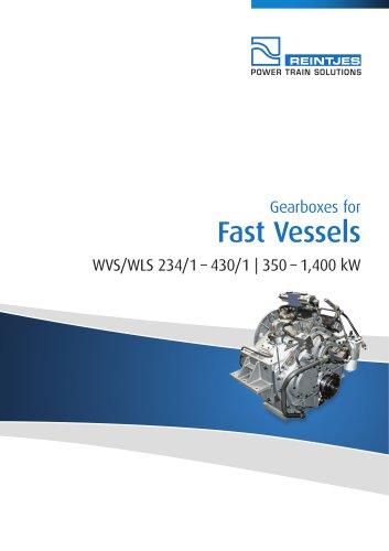 Fast Vessels WVS/WLS 234-1 - 430-1