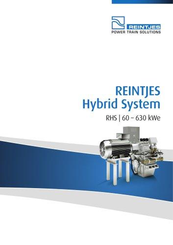 REINTJES Hybrid System 60-630 kWe