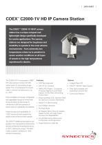 C2000-1V HD IP PTZ Camera Station