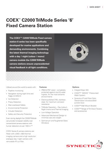 C2000-T2 Fixed 6 Series Camera Station