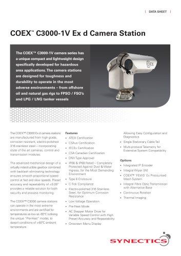 C3000-1V PTZ Camera Station