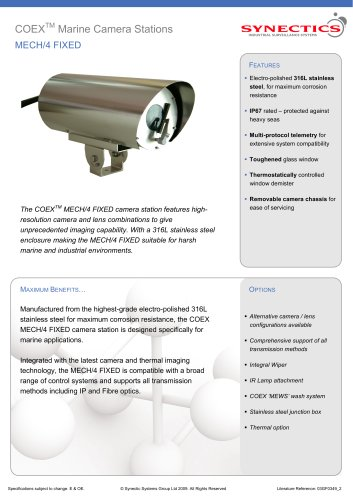 COEX MECH/4 Fixed Camera Station