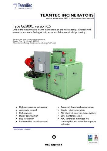 GS500CS brochure