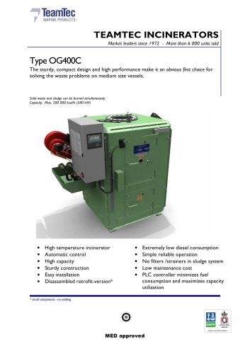 OG400C brochure