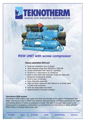 RSW-unit with screw compressor.pdf