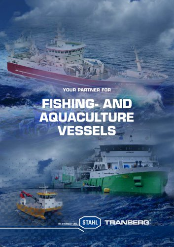 Fishing- and aquaculture vessels