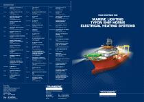 Marine Lighting tyfon ship horns electrical heating sstème