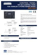 TEF 4614 Datasheet Control panel