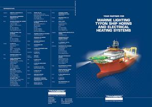 Tranberg Marine Brochure