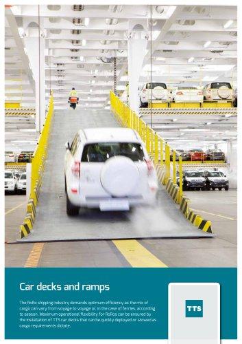 Car decks and ramps