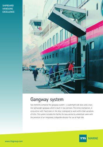 Gangway system