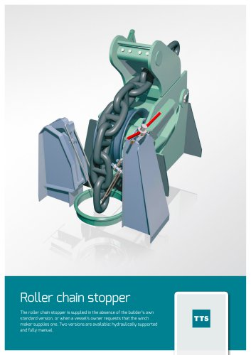 Roller chain stopper