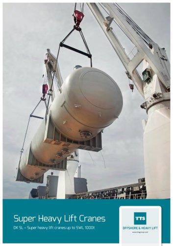 TTS Heavy lift cranes DK SL