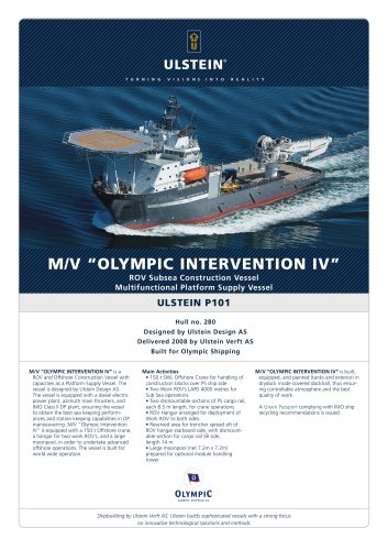 "M/V ""OLYMPIC INTERVENTION IV"""