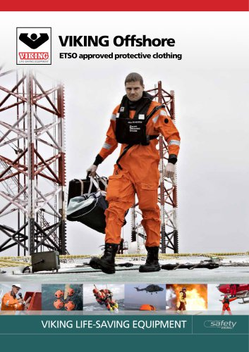 VIKING Offshore ETSO approved clothing