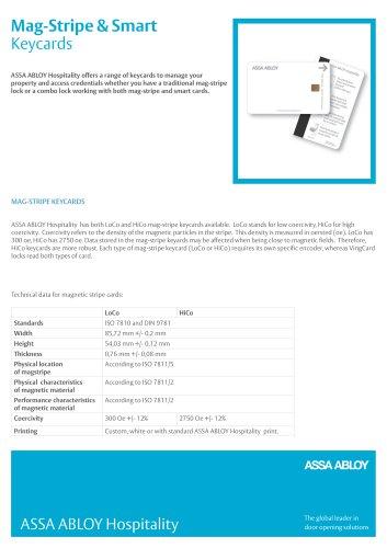 Mag-Stripe & Smart Keycards