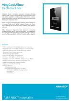 VingCard Allure Product Sheet