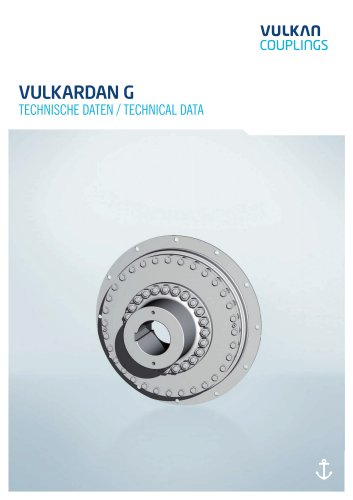 VULKARDAN G - Technical Data
