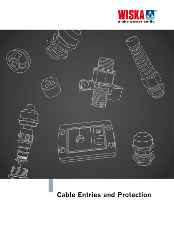 Cable entries and protection