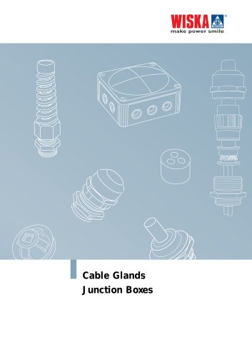 Cable Glands and Junction Boxes