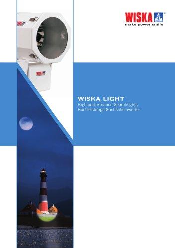 Catalogue WISKA LIGHT / High performance Searchlights