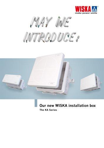 Our new WISKA installation box