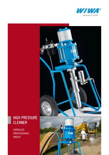 Wiwa High Pressure Cleaner