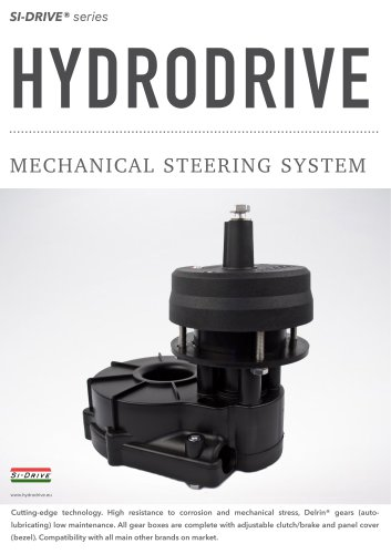 MECHANICAL STEERING SYSTEM