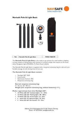 Navisafe Pole & Light Basic