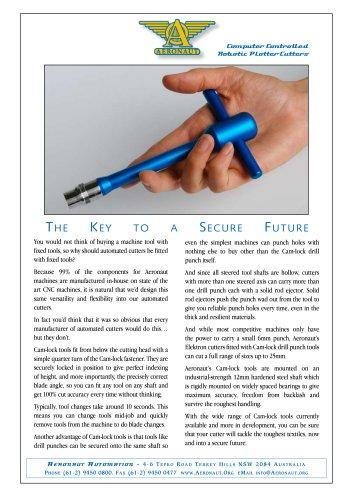Cam-lock tooling brochure