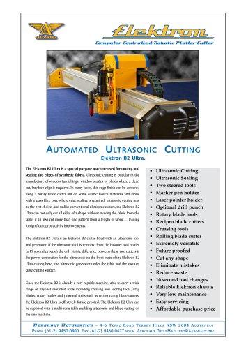 Elektron B2 Ultra ultrasonic automated cutter